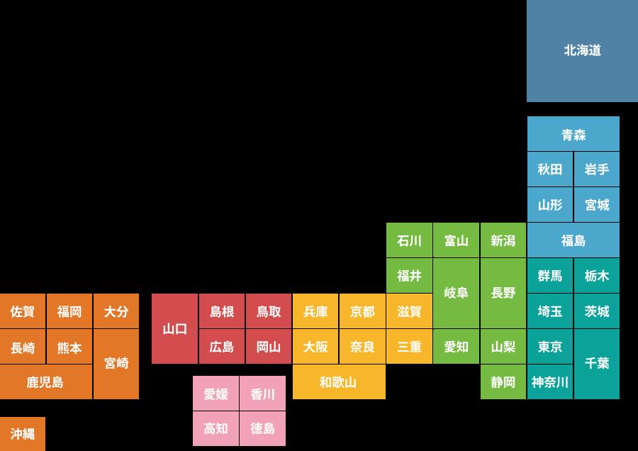 日本全国図