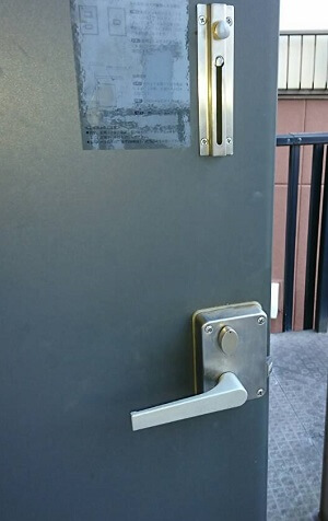 千葉市の鍵開け後の写真