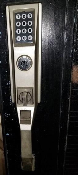 金庫の解錠