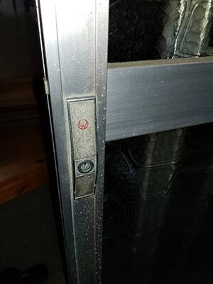 小山市で玄関の鍵交換前