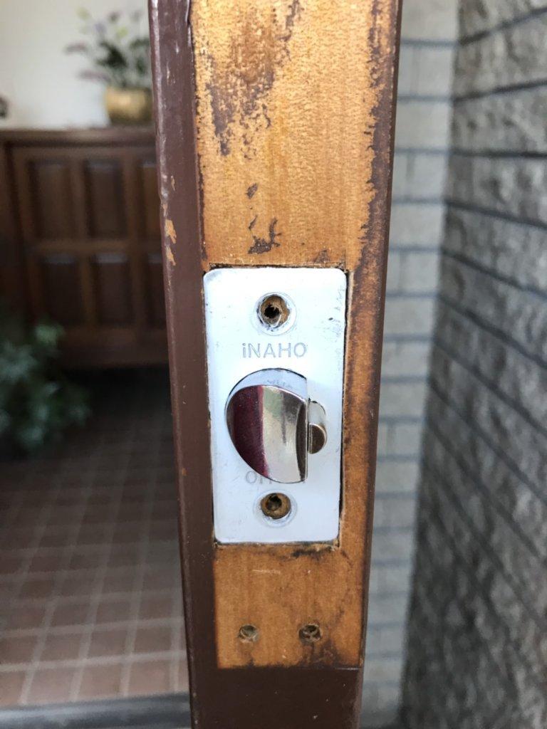宇都宮市で玄関の鍵交換完了